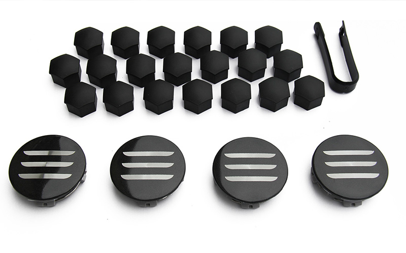 Tesla Aero wheel cap kit packaging
